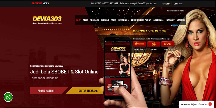Why choose sbobet online slot Indonesia (judi slot online Indonesia)